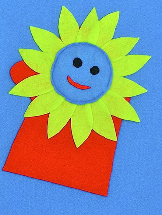 Little Flower Puppet