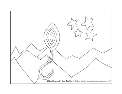 Coloring pages - Sukey Molloy!