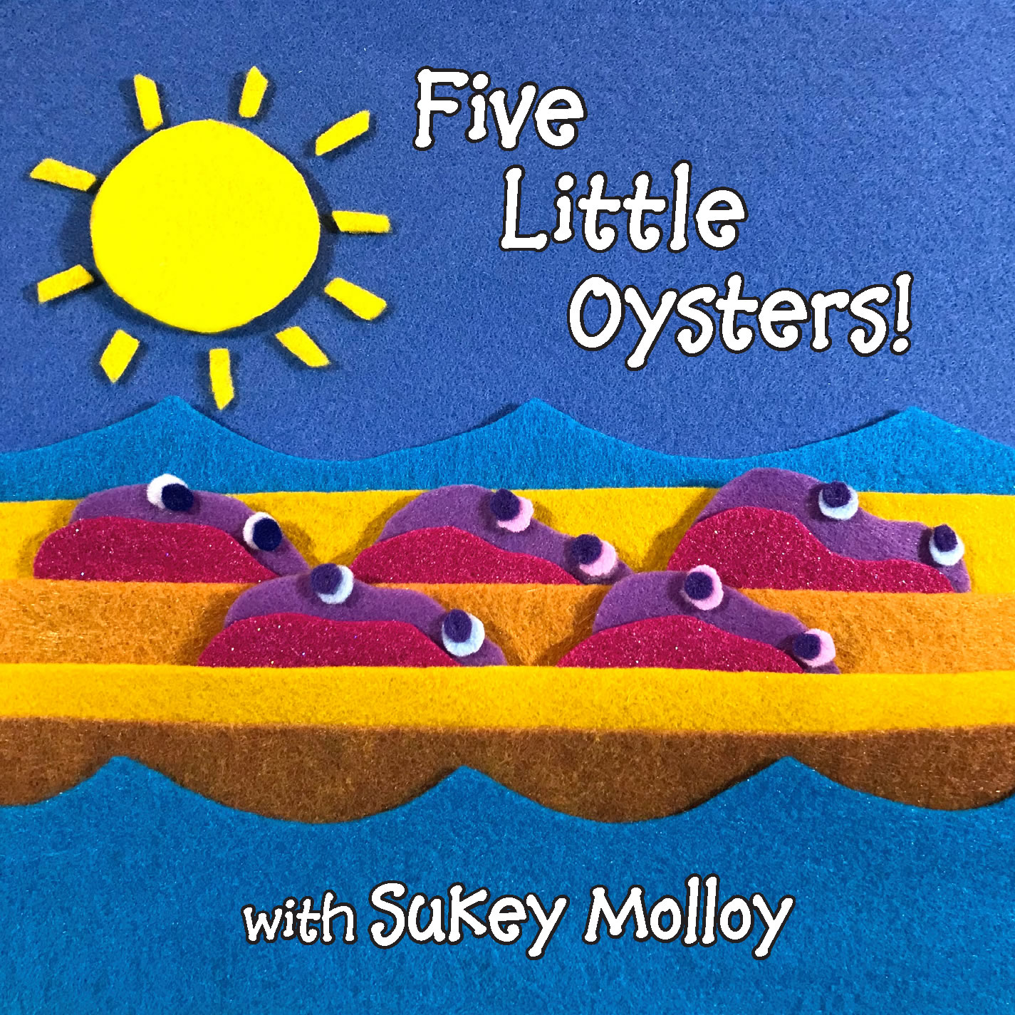Five Little Oysters! CD